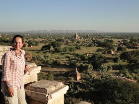 Bagan, Myanmar, diciembre de 2012