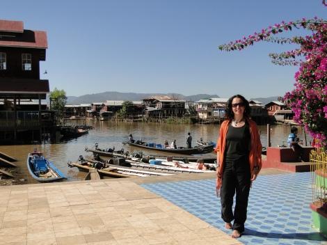 Inle Lake, Myanmar, diciembre de 2012