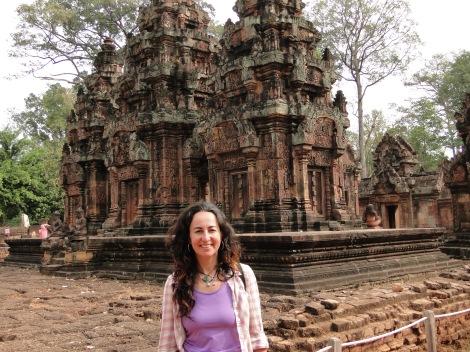 Siem Reap, Camboya, enero de 2013