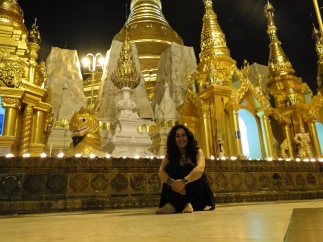 Yangon, Myanmar, diciembre de 2012