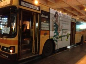 Autobús gratuito aeropuerto de Bangkok