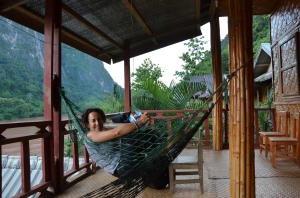De relax en Nong Khiaw